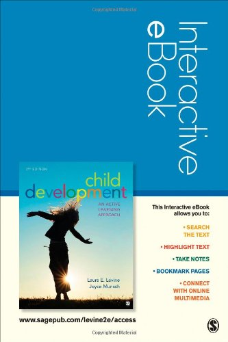 Child Development Interactive eBook: An Active Learning: Levine, Laura E.;