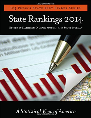 9781483347844: State Rankings 2014; A Statistical View of America (CQ Press's State Fact Finder Series)