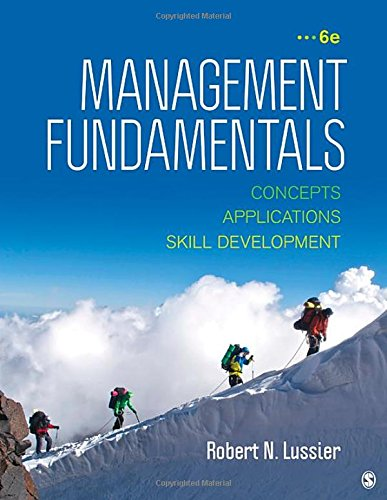 9781483352268: Management Fundamentals: Concepts, Applications, & Skill Development