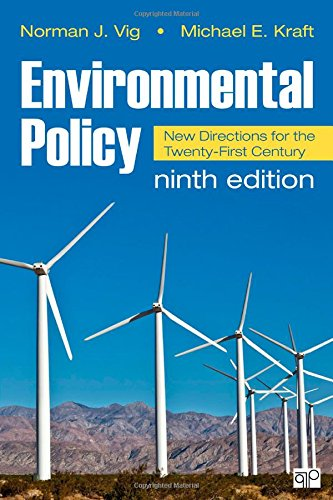 9781483352589: Environmental Policy: New Directions for the Twenty-First Century