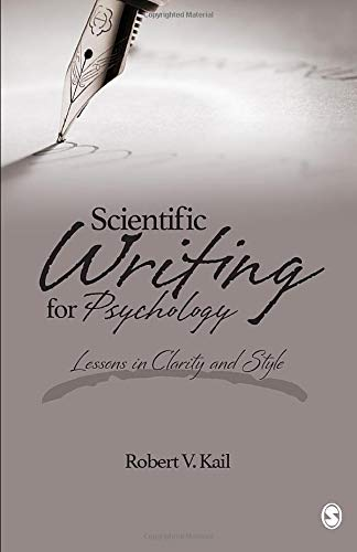9781483353043: Scientific Writing for Psychology: Lessons in Clarity and Style