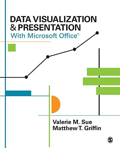 9781483365152: Data Visualization & Presentation With Microsoft Office