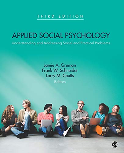 9781483369730: Applied Social Psychology