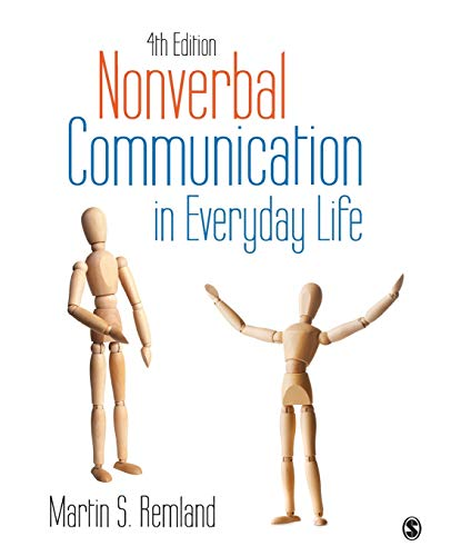 9781483370255: Nonverbal Communication in Everyday Life