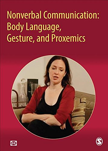 9781483373546: Nonverbal Communication: Body Language, Gesture, and Proxemics