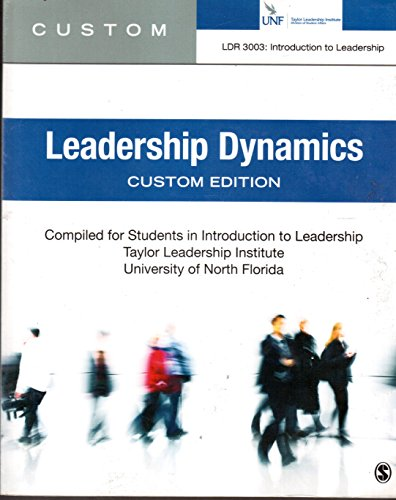 9781483375885: Leadership Dynamics UNF Custom Edition