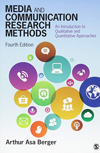 9781483377568: Media and Communication Research Methods: An Introduction to Qualitative and Quantitative Approaches