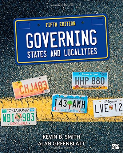 9781483378039: Governing States and Localities