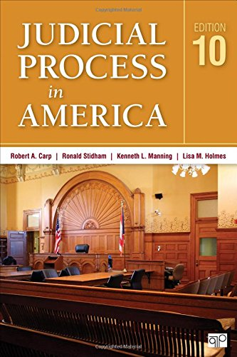 9781483378251: Judicial Process in America (Tenth Edition)