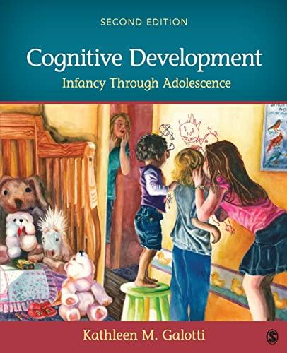 9781483379173: Cognitive Development: Infancy Through Adolescence
