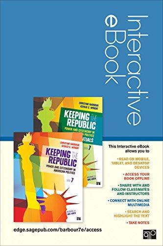 9781483380704: Keeping the Republic Interactive Ebook: Full