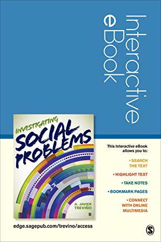 9781483382036: Investigating Social Problems Interactive ebook