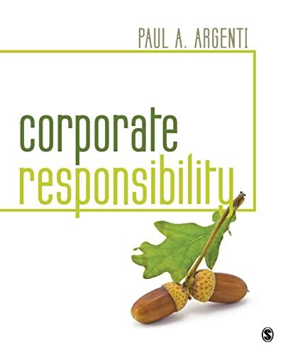 9781483383101: Corporate Responsibility