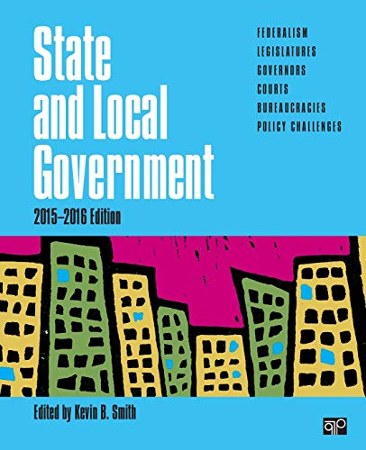 9781483383668: State and Local Government (2015-2016 Edition)