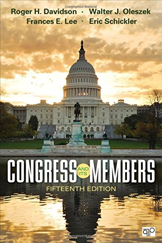 9781483388885: Congress and Its Members