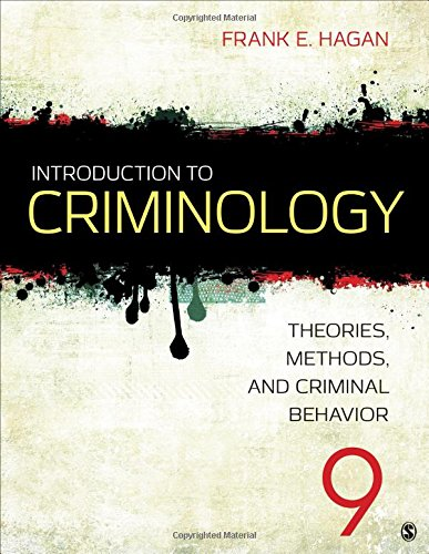 9781483389172: Introduction to Criminology: Theories, Methods, and Criminal Behavior