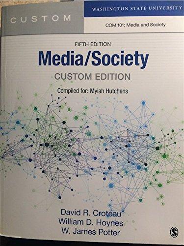 9781483391915: Media/Society