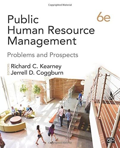 9781483393452: Public Human Resource Management: Problems and Prospects