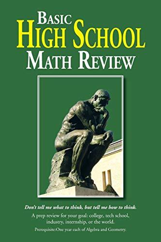 9781483605548: Basic High School Math Review