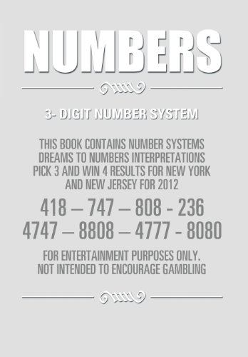 9781483637778: Numbers: 3- Digit Number System
