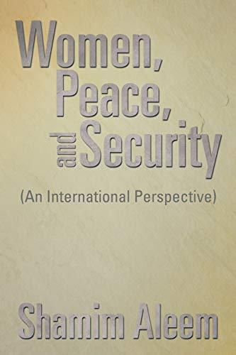 Women, Peace, and Security: Shamim Aleem