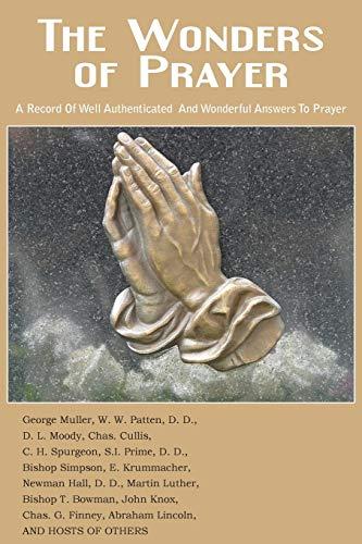 9781483706931: The Wonders of Prayer