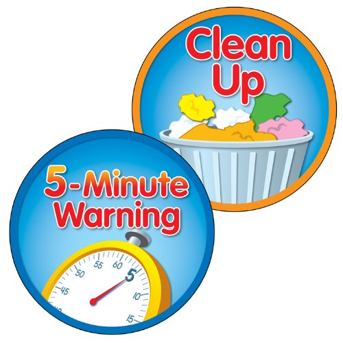 9781483800295: 5-Minute Warning/Clean Up Two-Sided Decoration