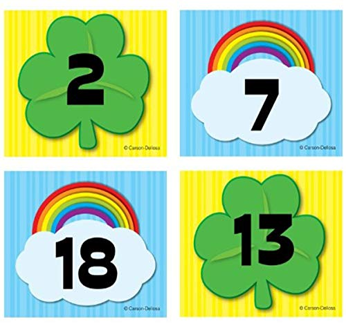 Shamrock/Rainbow Calendar Cover-Up: Carson-Dellosa Publishing LLC (COR)