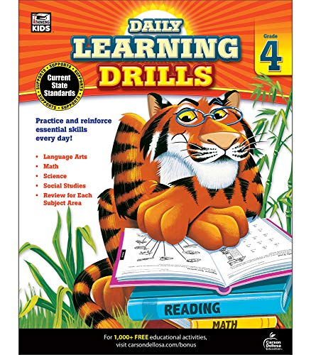 9781483800875: Daily Learning Drills, Grade 4 (Brighter Child: Daily Learning Drills)