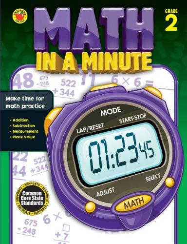 9781483801360: Math in a Minute, Grade 2