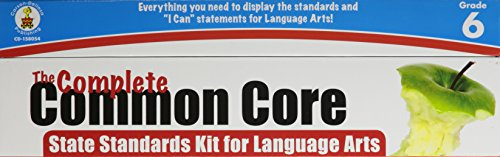 9781483801476: The Complete Common Core State Standards Kit for Language Arts, Grade 6