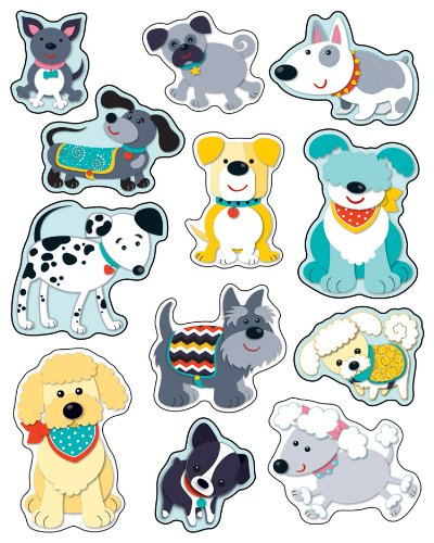 9781483802855: Hot Diggity Dogs Shape Stickers