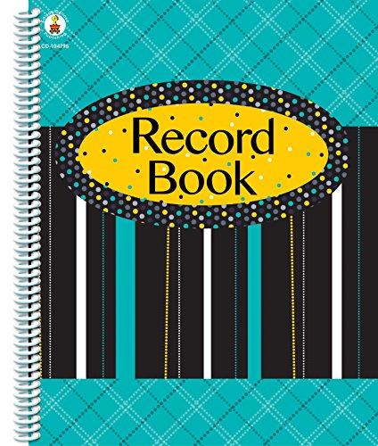 9781483802985: Black, White & Bold Record Book