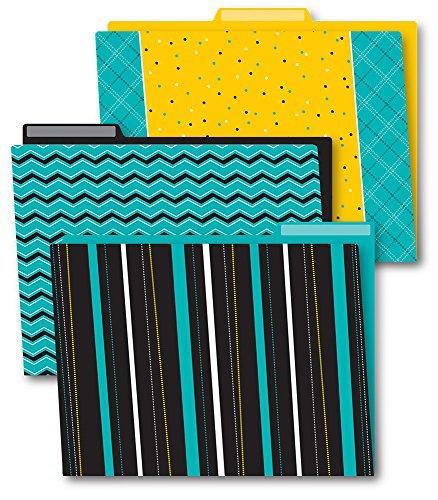 Black, White & Bold File Folders