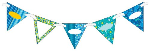 9781483803586: Bubbly Blues: 16 Two-sided Pennants (Classroom Coordinates)