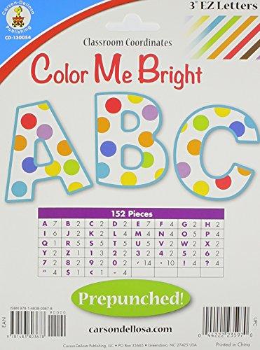9781483803678: Color Me Bright EZ Letters