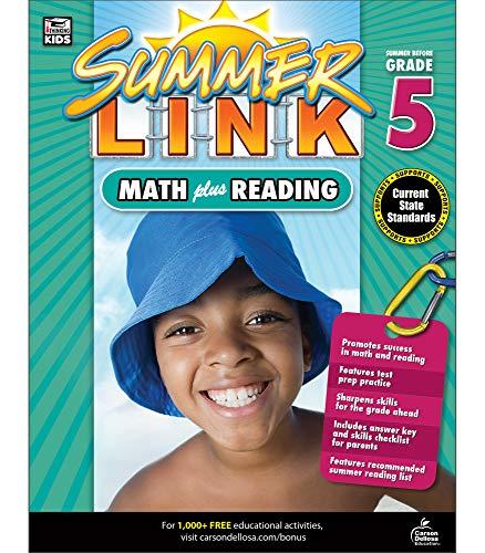 9781483804682: Math Plus Reading Workbook: Summer Before Grade 5 (Summer Link)