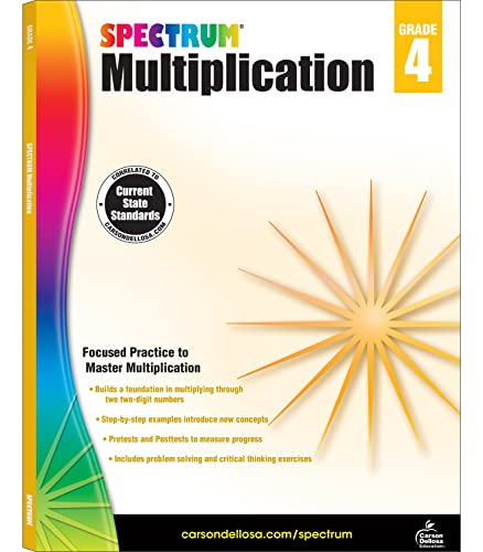 9781483804767: Spectrum Multiplication Grade 4