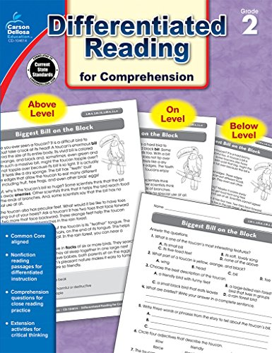 9781483804873: Differentiated Reading for Comprehension, Grade 2