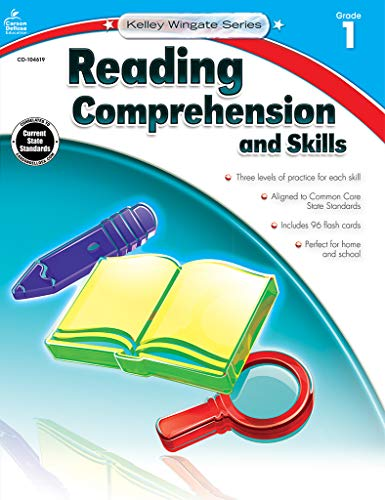 9781483804927: Reading Comprehension and Skills, Grade 1 (Kelley Wingate)