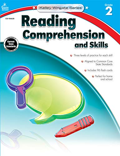 9781483804934: Reading Comprehension and Skills, Grade 2 (Kelley Wingate)