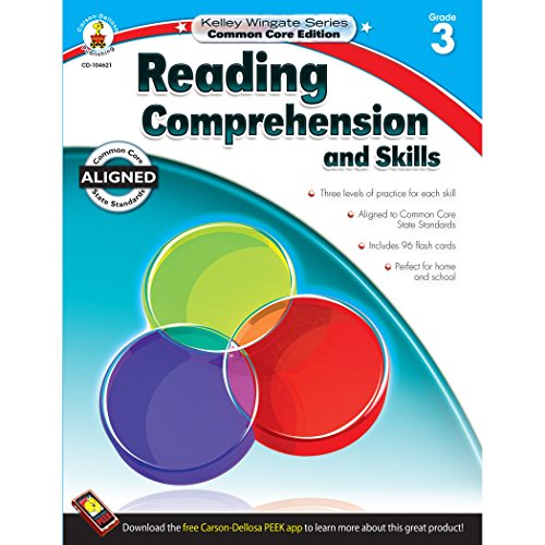 9781483804941: Reading Comprehension and Skills, Grade 3 (Kelley Wingate)