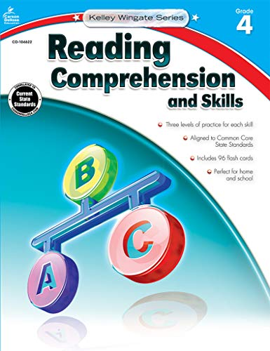 9781483804958: Reading Comprehension and Skills, Grade 4 (Kelley Wingate)