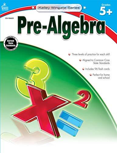 9781483805047: Pre-Algebra, Grades 5 - 8 (Kelley Wingate)