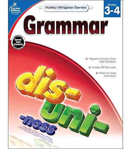 9781483805078: Grammar, Grades 3 - 4 (Kelley Wingate)