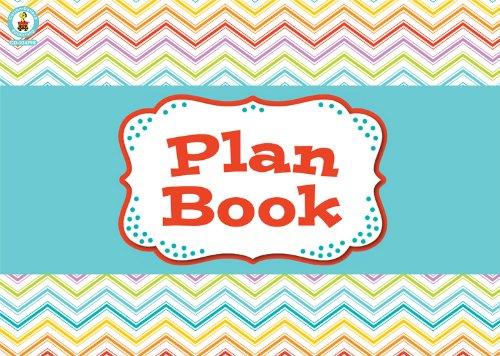 9781483805825: Chevron Plan Book