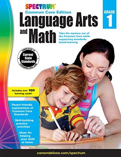 Spectrum Language Arts and Math, Grade 1: