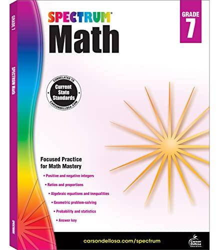9781483808758: Spectrum Math, Grade 7