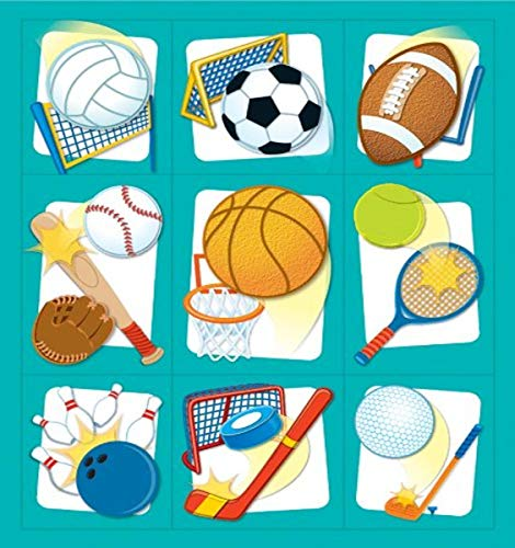 9781483809359: Sports Prize Pack Stickers