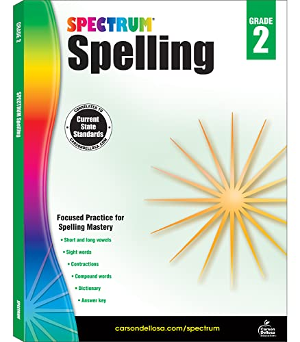 9781483811758: Spectrum Spelling, Grade 2